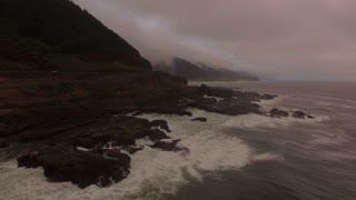 Aerial Oregon Thors Well September 2016 4K