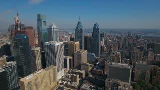Aerial Pennsylvania Philadelphia September 2016 4K