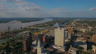 Aerial Tennessee Memphis September 2016 4K