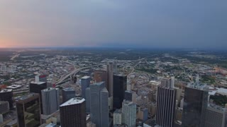 Aerial Texas Dallas