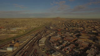 Aerial Texas El Paso September 2016 4K