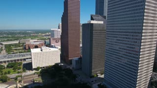 Aerial Texas Houston September 2016 4K