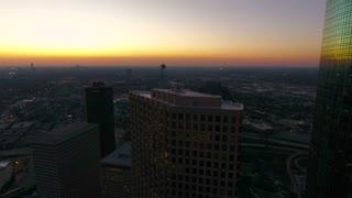 Aerial Texas Houston September 2016 4K