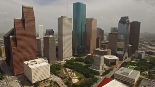 Aerial Texas Houston