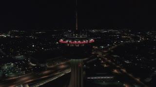 Aerial Texas San Antonio September 2016 4K