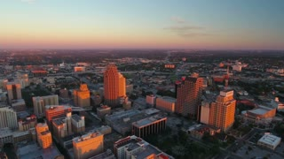 Aerial Texas San Antonio September 2016 4K