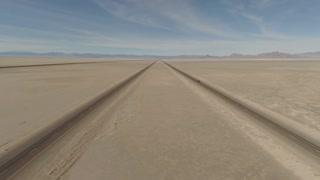 Aerial Utah Salt Flats