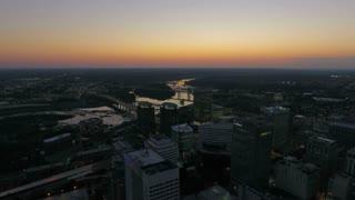 Aerial Virginia Richmond September 2016 4K