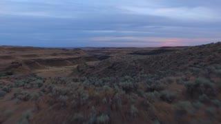 Aerial Washington Countryside