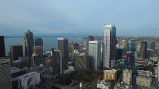 Aerial Washington Seattle