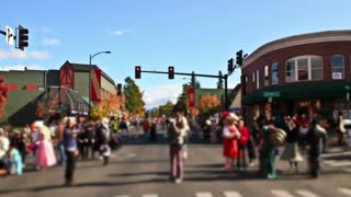 Ashland Oregon Halloween Parade