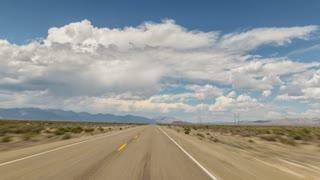 Driving Nevada Desert