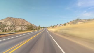 Driving Oregon Mt Hood Desert