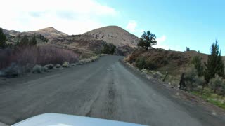 Driving Oregon Painted Hills