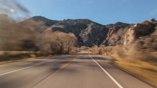 Driving Utah