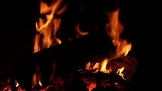 Fire Background Dark