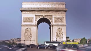 Paris France Arc de Triomphe