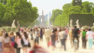 Paris France People Crowds