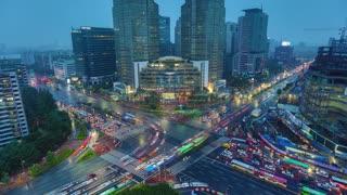 Seoul Korea Asia Time lapse