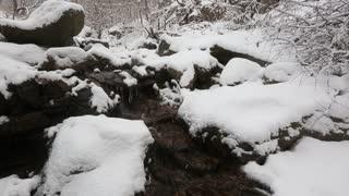 Seoul Korea Snowy Creek