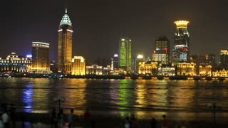 Shanghai City Timelapse Zoom