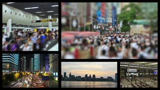 Video Montage Shanghai China