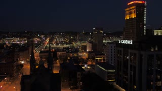 Aerial Alabama Birmingham July 2017 Night 4K Inspire 2