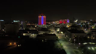 Aerial Alabama Montgomery July 2017 Night 4K Inspire 2