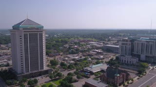 Aerial Alabama Montgomery July 2017 Sunny Day 4K Inspire 2