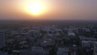 Aerial Alabama Montgomery July 2017 Sunrise 4K Inspire 2