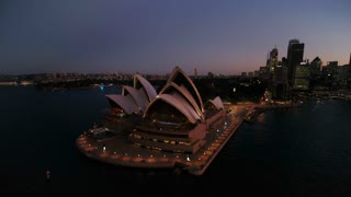 Aerial Australia Sydney April 2018 Sunset 15mm Wide Angle 4K Inspire 2 Prores  Aerial video of downtown Sydney in Australia at sunset.