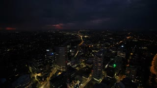 Aerial Australia 7834 North Sydney April 2018 Night Thunder Storm 15 Mm 4 K Inspire 2 Prores