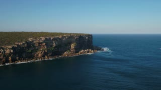 Aerial Australia Sydney Manly North Head Harbour National Park April 2018 Sunny Day 30mm 4K Inspire 2 Prores  Aerial video of Manly North Head Harbour National Park with Sydney in the background on a beautiful sunny day.