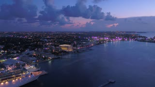 Aerial Bahamas Nassau July 2017 Night 4K Inspire 2