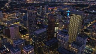 Aerial Canada Calgary June 2017 Night 4K Inspire 2 ProRes