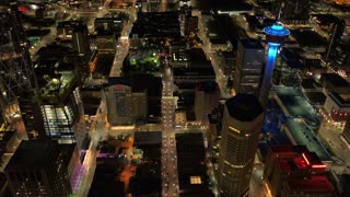Aerial Canada Calgary June 2017 Night 4K Inspire 2