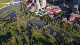 Aerial Canada Calgary June 2017 Sunny Day 4K Inspire 2 ProRes