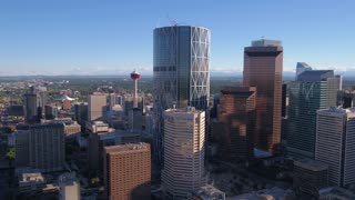 Aerial Canada Calgary June 2017 Sunny Day 4K Inspire 2