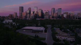 Aerial Canada Calgary June 2017 Sunrise 4K Inspire 2 ProRes