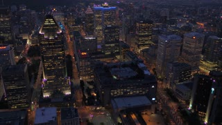 Aerial Canada Montreal July 2017 Sunset 4K Inspire 2