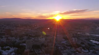 Aerial Canada Quebec City July 2017 Sunset 4K Inspire 2