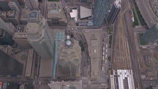 Aerial Canada Toronto July 2017 Overcast Day 4K Inspire 2