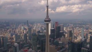 Aerial Canada Toronto July 2017 Sunny Day 4K Inspire 2