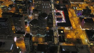 Aerial Colorado Denver July 2017 Night 4K Inspire 2