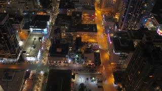 Aerial Colorado Denver July 2017 Night 4K Inspire 2