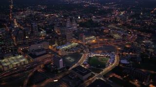 Aerial Connecticut Hartford July 2017 Night 4K Inspire 2