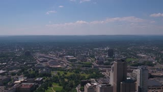 Aerial Connecticut Hartford July 2017 Sunny Day 4K Inspire 2