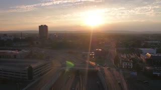 Aerial Connecticut Hartford July 2017 Sunset 4K Inspire 2