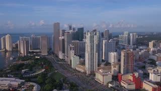 Aerial Florida Miami July 2017 Sunny Day 4K Inspire 2