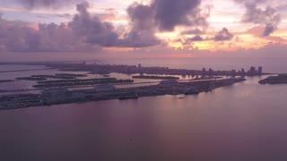 Aerial Florida Miami July 2017 Sunrise 4K Inspire 2